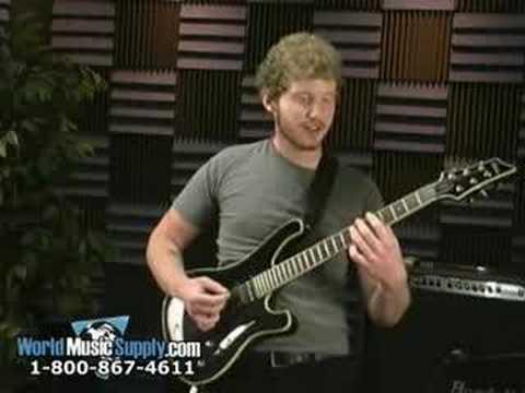 Schecter 006 Blackjack Electric Guitar Demo