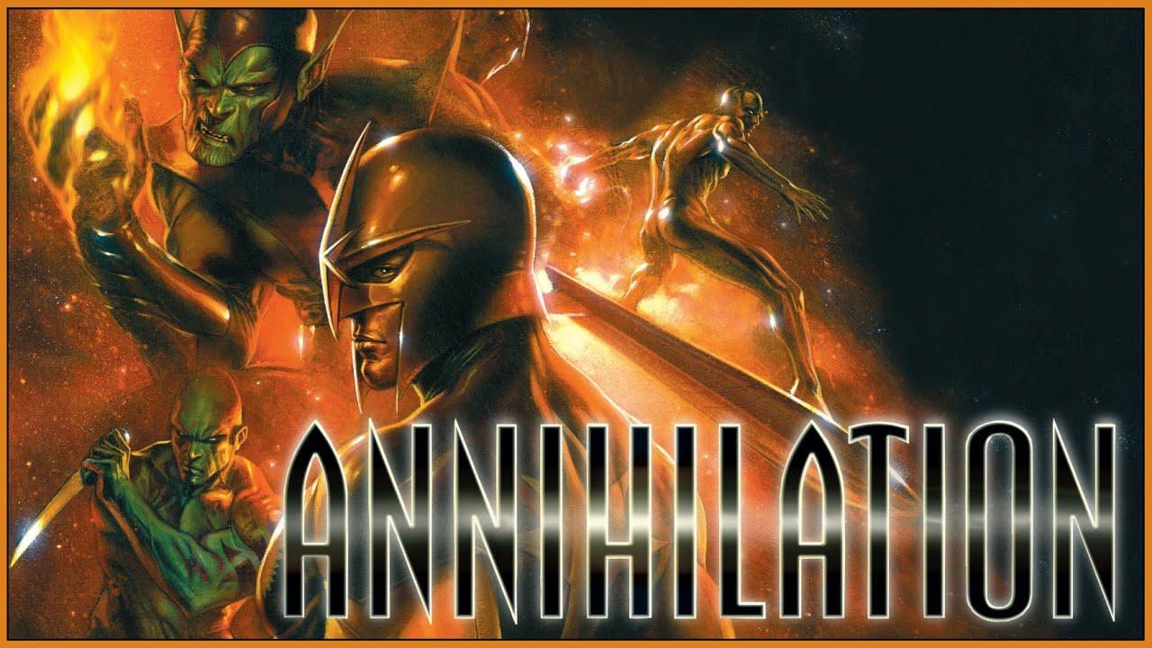 ANNIHILATION: How Marvel Cosmic Was Reborn Through Its Destruction ...