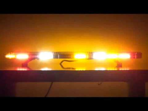 Starlight Low Profile Amber Led Beacon Light Bar Youtube