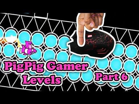 BLUE JUMP RING SPAM!! | Geometry Dash #83 | PigPig Gamer Levels (Part 6)