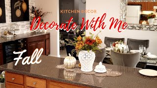 FALL DECOR    DECORATE WITH ME 2019