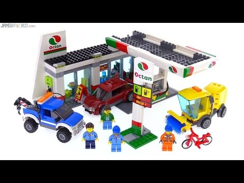 LEGO City 2016 Service Station review! 60132