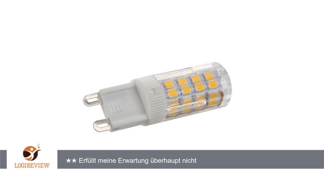 minger 5w g9 led lampen ersatz f r 40w halogenlampen. Black Bedroom Furniture Sets. Home Design Ideas