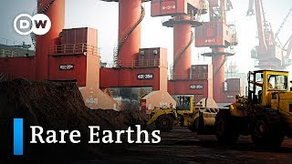 China threatens to restrict rare earths in trade war with the US | DW News