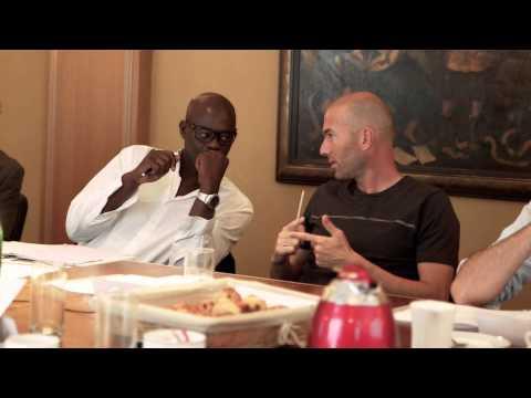 Zinedine Zidane - Jury des Trophées du Sport responsable