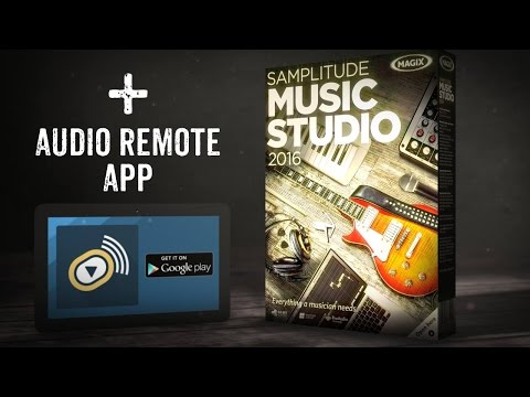 MAGIX Samplitude Music Studio 2016 (INT) – Recording Software