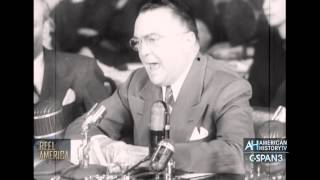 Universal Newsreel March 27, 1951 Hoover on Gambling, Korean Vets come home