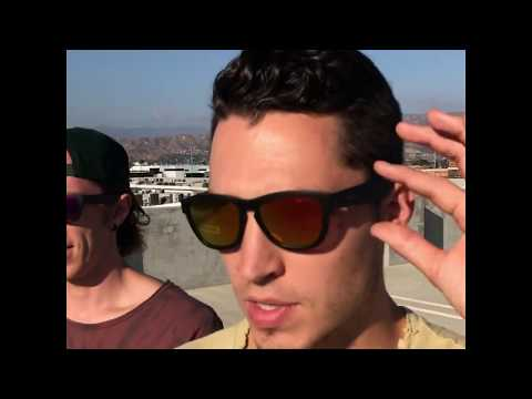 ZUNGLE Viper Review   Music sunglasses   The Williams Fam