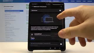 Как раздавать Wi-Fi со смартфона Samsung Galaxy Fold  — Мобильная точка доступа