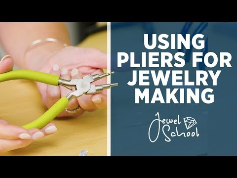How to Use Pliers for Jewelry Making | Jewlery 101