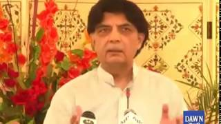 Nisar announces exit from politics; will give up NA seat, ministry on day of SC verdict