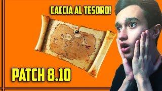 🔴 NOW EVENT! PATCH 8.10! SECRET TREASURE HUNT! SO MANY NEWS! NEWS FORTNITE ITA Rimoldigno