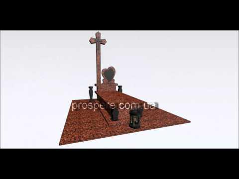 купить Надгробный Памятник гранита Гранитные изделия дешево недорого Житомир BrilLion Club