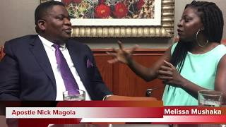 Melissa Mushaka sits down with quotThe Terminatorquot Apostle Nick Magola POWER