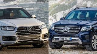 2017 Audi Q7 Vs Mercedes GLS Class | ULTIMATE REVIEW & COMPARISON