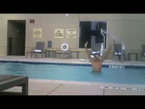 Vacation Vlog 4: Swimming at the Hampton inn by Hilton