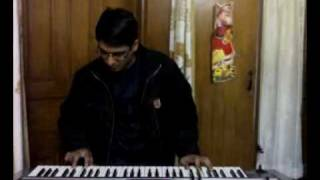 Indian song  played on Roland GW-7 Keyboard from Karma .mp4