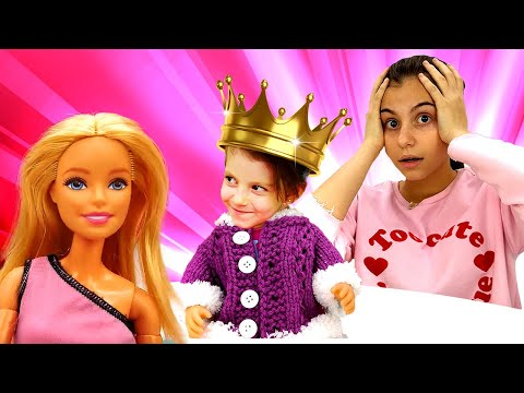 Весёлые игры для девочек - Кукла Барби и Лучшие подружки! - Видео для детей с игрушками