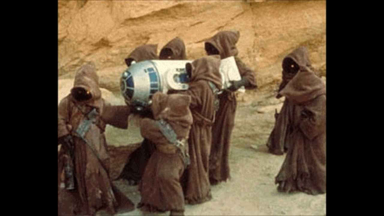 Utini Jawas Captering R2d2 Youtube