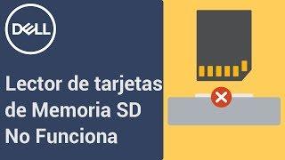 Lector de tarjetas de memoria no funciona o no lee cartas SD