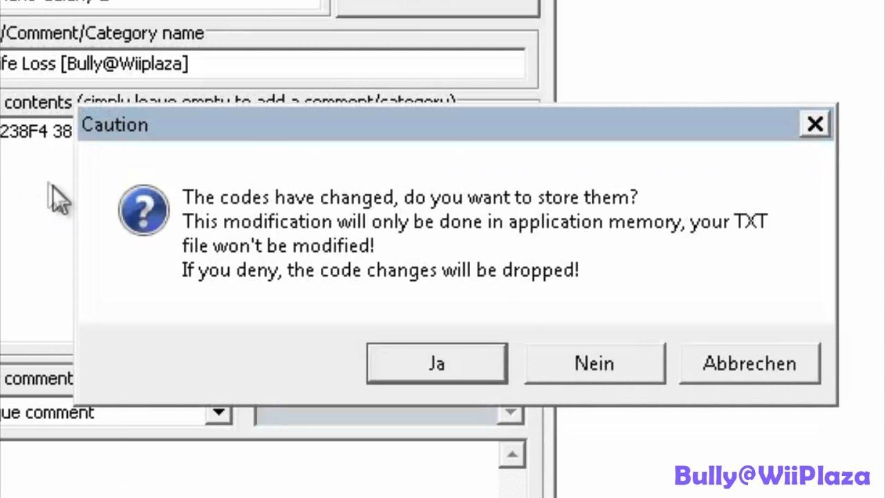 Gecko Code Manager - ZeldaCodes