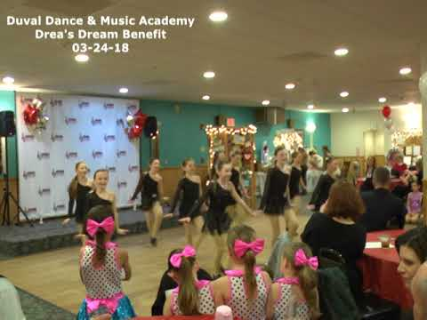 Duval Dance & Music Academy: Drea's Dream Benefit - 03-24-18