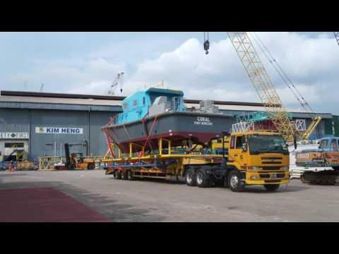 Kim Heng Shipbuilding & Engineering Pilot Boat Timelapse Video