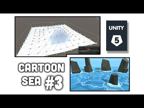 Easy Cartoon Sea Tutorial - Unity 5   Part 03 - Making Objects Float