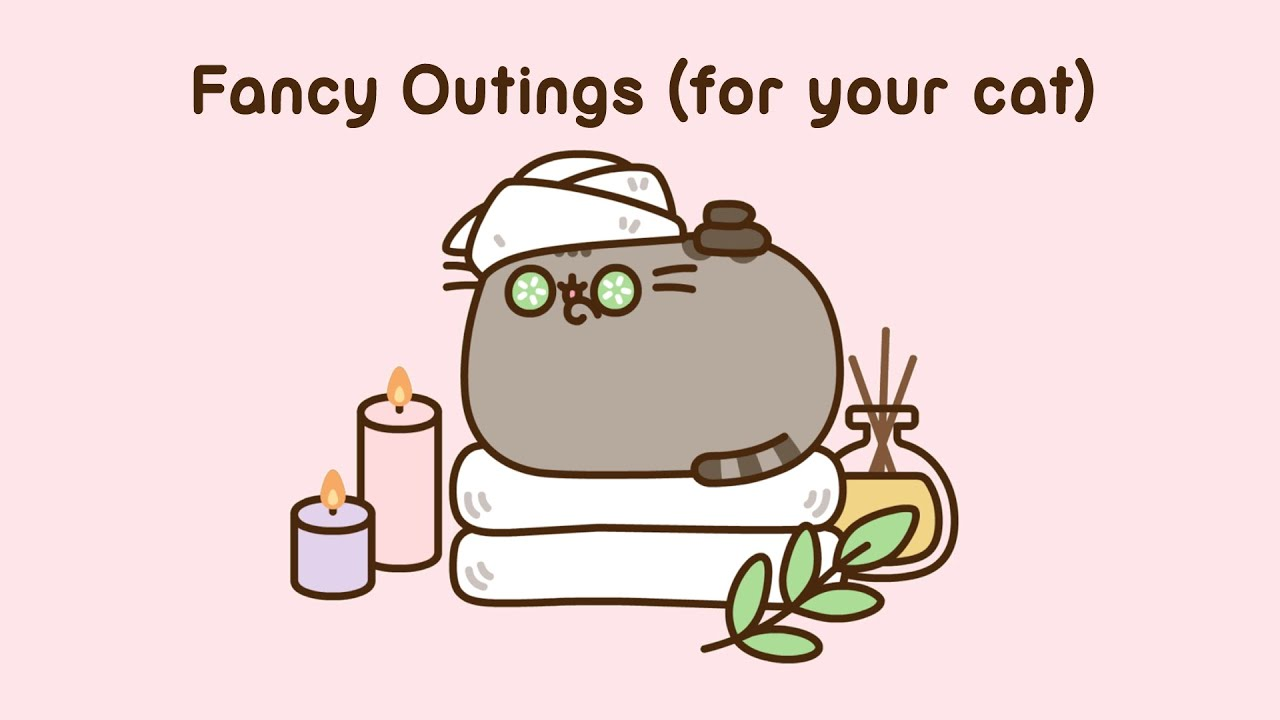 Pusheen: Fancy Outings (for your cat)