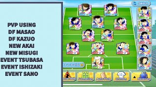 PVP Use all of new Japan Player - Captain Tsubasa Dream Team