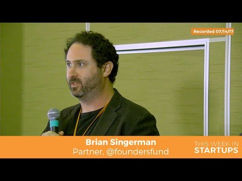 Founders Fund Brian Singerman: VC success criteria, importance of angel investing &startup qualities