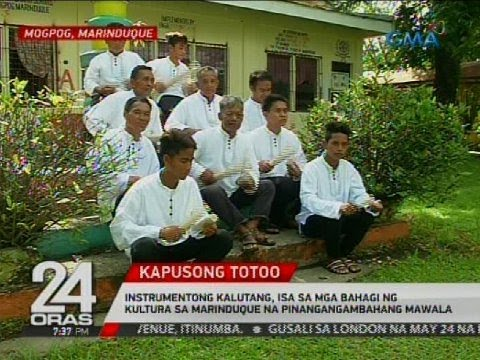 Instrumentong kalutang, isa sa mga bahagi ng kultura sa Marinduque na pinangangambahang mawala