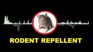 stop rats, remove the mice permanently with the sound.