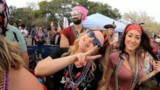 2018 Gasparilla Parade - Tampa - Bayshore Blvd