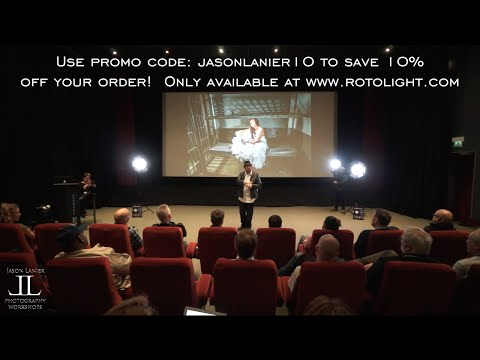 LED Lighting Presentation w/ the Rotolight Neo at Pinewood Studios in London Part 1 by Jason Lanier