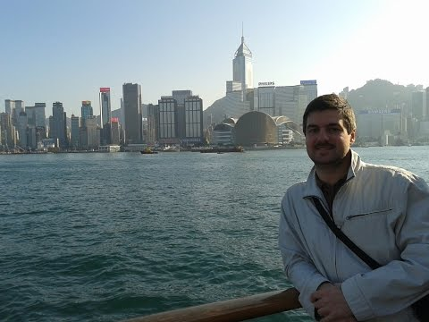 Hong Kong 2014 (part 3). Man Mo Temple, Harbour Tour, One Dim Sum, night view from Avenue of Stars