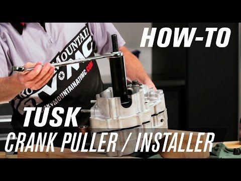 How To Install a Dirt Bike Crankshaft using the Tusk Crank Puller