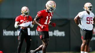 49ers Brandon Aiyuk on COVID scare and learning from Richard Sherman