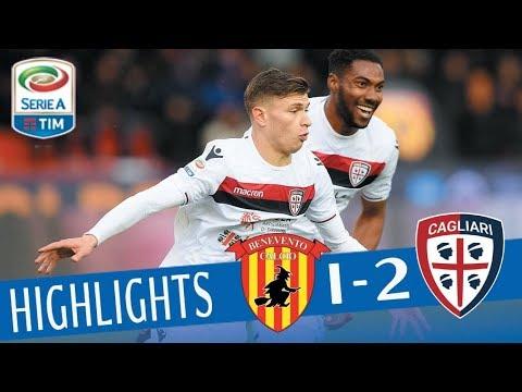 Benevento - Cagliari 1-2 - Highlights - Giornata 29 - Serie A TIM 2017/18