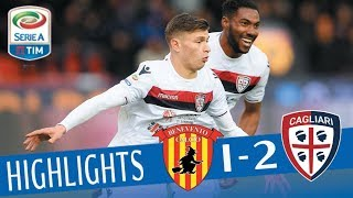 Benevento - Cagliari 1-2 - Highlights - Giornata 29 - Serie A TIM 2017/18