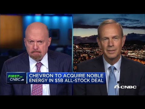 Chevron CEO Michael Wirth on why Noble Energy deal is good for shareholders