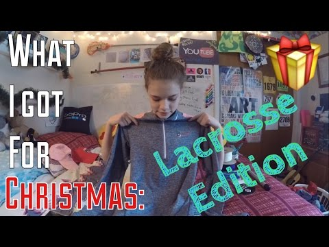 What I Got For Christmas: LACROSSE EDITION | LaxGirlsWorld