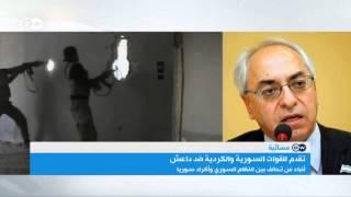 عبد الباسط سيدا: لماذا يلقي النظام البراميل على حلب ولا يلقيها على الرقة؟   المسائية