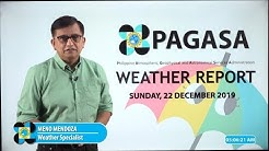 Public Weather Forecast Issued at 4:00 AM December 22, 2019