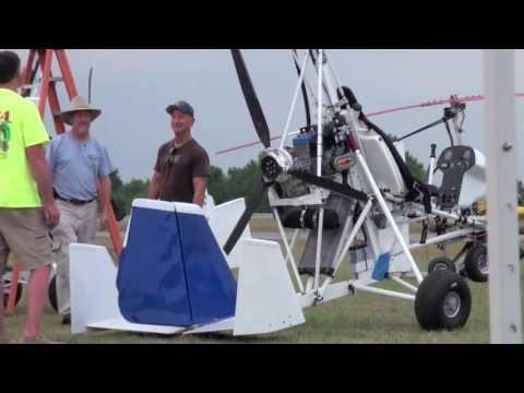 Bensen Days Fly-in Gyroplane 2013 (Part 4) Mosquito, MTO,