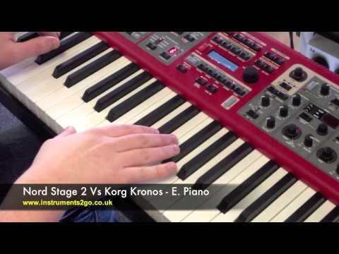 Korg Kronos Vs Nord Stage 2