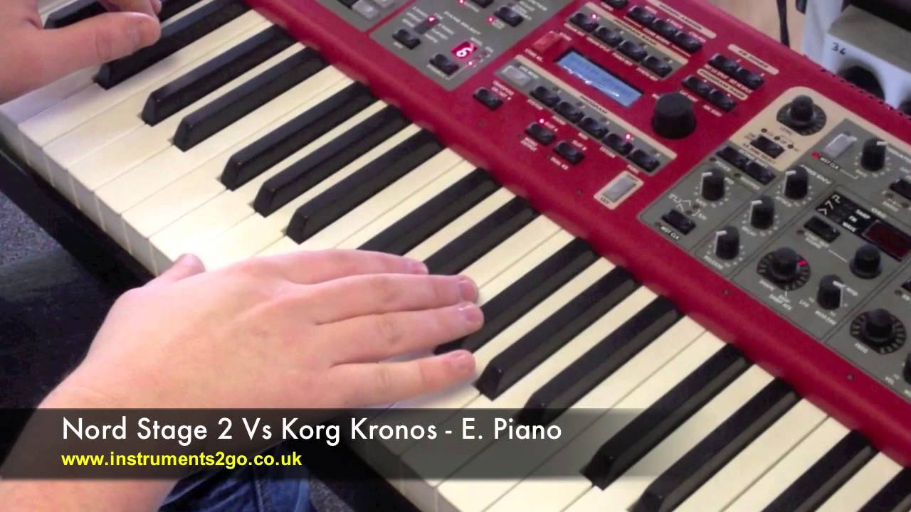 korg kronos vs nord stage 2 youtube. Black Bedroom Furniture Sets. Home Design Ideas