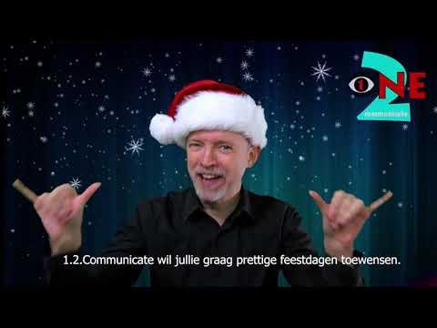 Kerstgroet van 1.2.Communicate