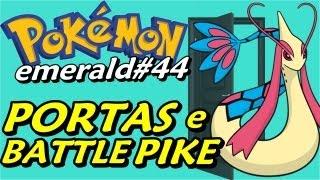 Pokémon Emerald (Detonado - Parte 44) - Battle Pike: Portas e A Líder Lucy