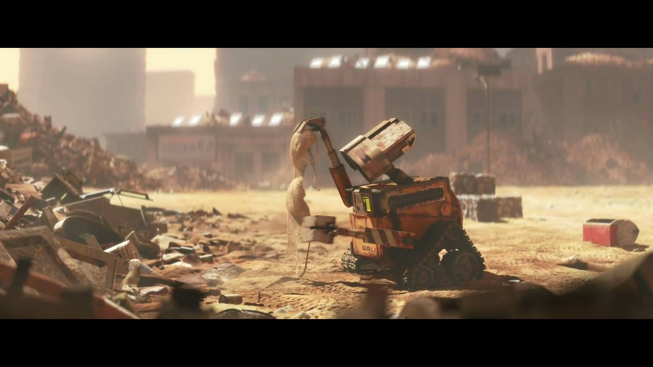 WALL•E Movie Clip Day At Work (FULL HD 1080P)
